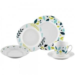 Aparelho de Jantar 20 pç Porcelana Home Gallery - Mcd