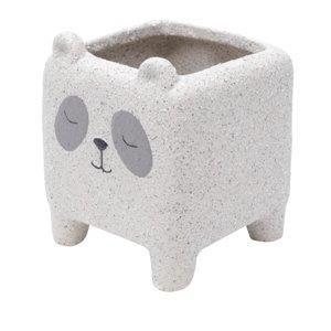 Cachepot Panda Sleeping Cerâmica - Urban
