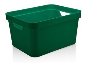 Caixa Organizadora Cube G 32L Verde Botânico - Ou