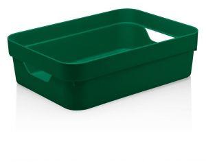 Caixa Organizadora Cube G Baixa 16L Verde Botânico - Ou