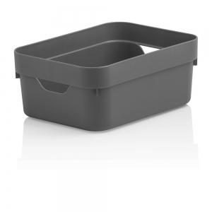 Caixa Organizadora Cube Mini Chumbo - Ou