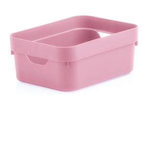 Caixa Organizadora Cube Mini Rosa - Ou