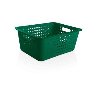Cesta Organizadora G 14,5L Verde Botânico - Ou