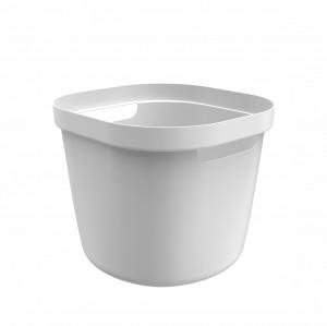 Cesto Organizador 28L Cube Flex Branco - OU