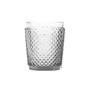 Conjunto 6 Copos Bico De Jaca Copo Baixo De Vidro Transparente 300Ml - Rojemac
