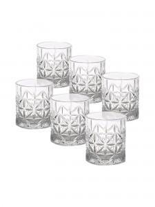Conjunto 6 Copos De Vidro 300Ml Para Whisky - Rojemac