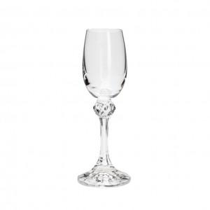 Conjunto 6 Taças Cristal Bohemia Licor Elisa 65 Ml - Rojemac