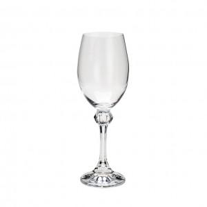 Conjunto 6 Taças Cristal Bohemia Vinho Branco Elisa 250Ml - Rojemac
