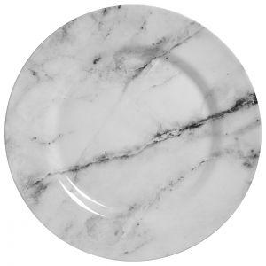 Conjunto Prato Raso 6 Pçs 28,5Cm  Marmore - Alleanza