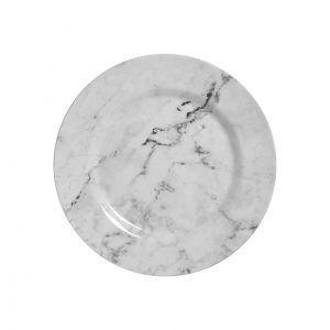 Conjunto Prato Sobremesa 6 Pçs 19,5Cm  Marmore - Alleanza