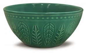 BOWL CERÂMICA ALTO RELIEVE ACQUA 550ML CORONA ACQUA - YOI 8103010307