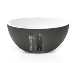 BOWL PETS ROCK  RAP 550ML CORONA - YOI 810300343