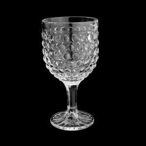 Conjunto  6 Taças Vinho De Vidro Bubble Transparente 260Ml - Lyor