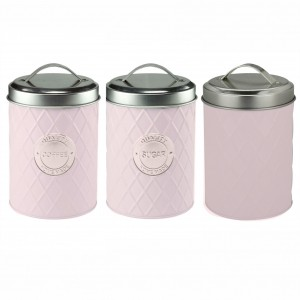 Kit 3 Latas em Metal Geometric Handle Lilás – Urban