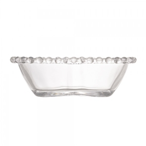 Kit 4 Bowls Cristal Coração 12cm Pearl - Wolff