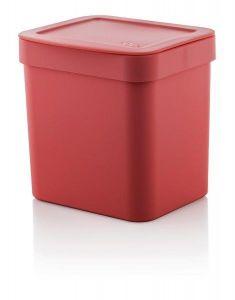 Lixeira De Pia Trium 2,5L Vermelha - Ou