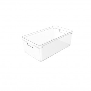 Organizador Clear 37x20x13cm Natural - Ou