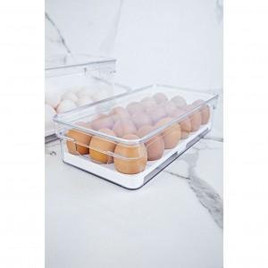 Organizador de Ovos Clear Fresh para 18un Natural - Ou
