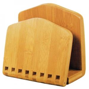 Porta Guardanapos c/Pressão em Bambu - Yoi