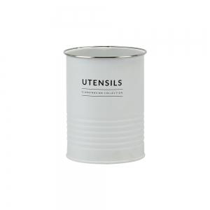 Porta Utensílios de Metal 12x15 Branco Copenhag - Yoi