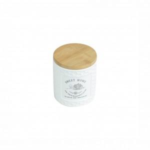 Pote de Mantimentos de Porcelana 500ml Sweet Home - ROJEMAC