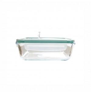 Pote Hermético de Vidro Transparente com Tampa Plástica 370ml - Lyor