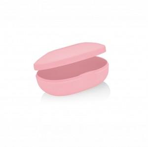 Saboneteira Soft Rosa Quartz - Ou