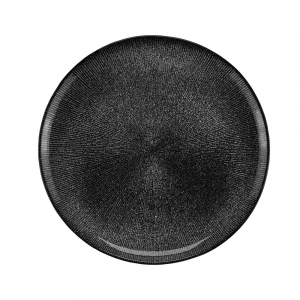 Sousplat Cristal Preto Dots 33cm - Wolff
