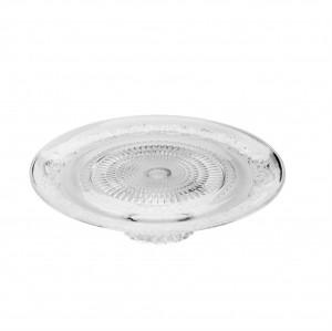 Travessa de Vidro Sodo-Calcico com Pé Angel 32,5x9,5cm - Lyor