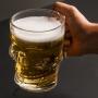 Caneca p/Chopp e Cerveja Vidro Caveira 510ml - Lyo