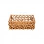 Cesto Organizador Quadrado 25x15 Papiro - Yoi