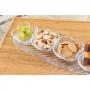 Conjunto 4 Bowl de Cristal Clover c/ Prato decorativo - Lyor