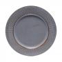 Conjunto 6 Sousplats Plástico Azul 33cm - Rojemac