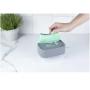 Dispenser Fechado p/Detergente e Esponja Trium Chumbo - OU