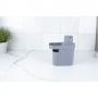 Dispenser p/ Detergente Organizador 650ml Trium Chumbo - OU