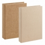 Kit 2 Livros Caixa Decorativo Bege – Mart