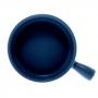 Mini Travessa Porcelana Nórdica Azul 20x15cm - Bon Gourmet