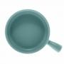 Mini Travessa Porcelana Nórdica Menta 20x15cm - Bon Gourmet