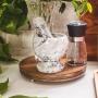 Pilão com Socador de Marmore 11cm - Bon Gourmet