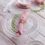Prato p/ Sobremesa 20cm Cristal Coração - Lyor