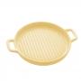 Travessa Porcelana Nórdica Amarelo 24x19cm - Bon Gourmet