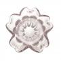Vaso de Vidro Flat Italy Rosa Claro - Lyor