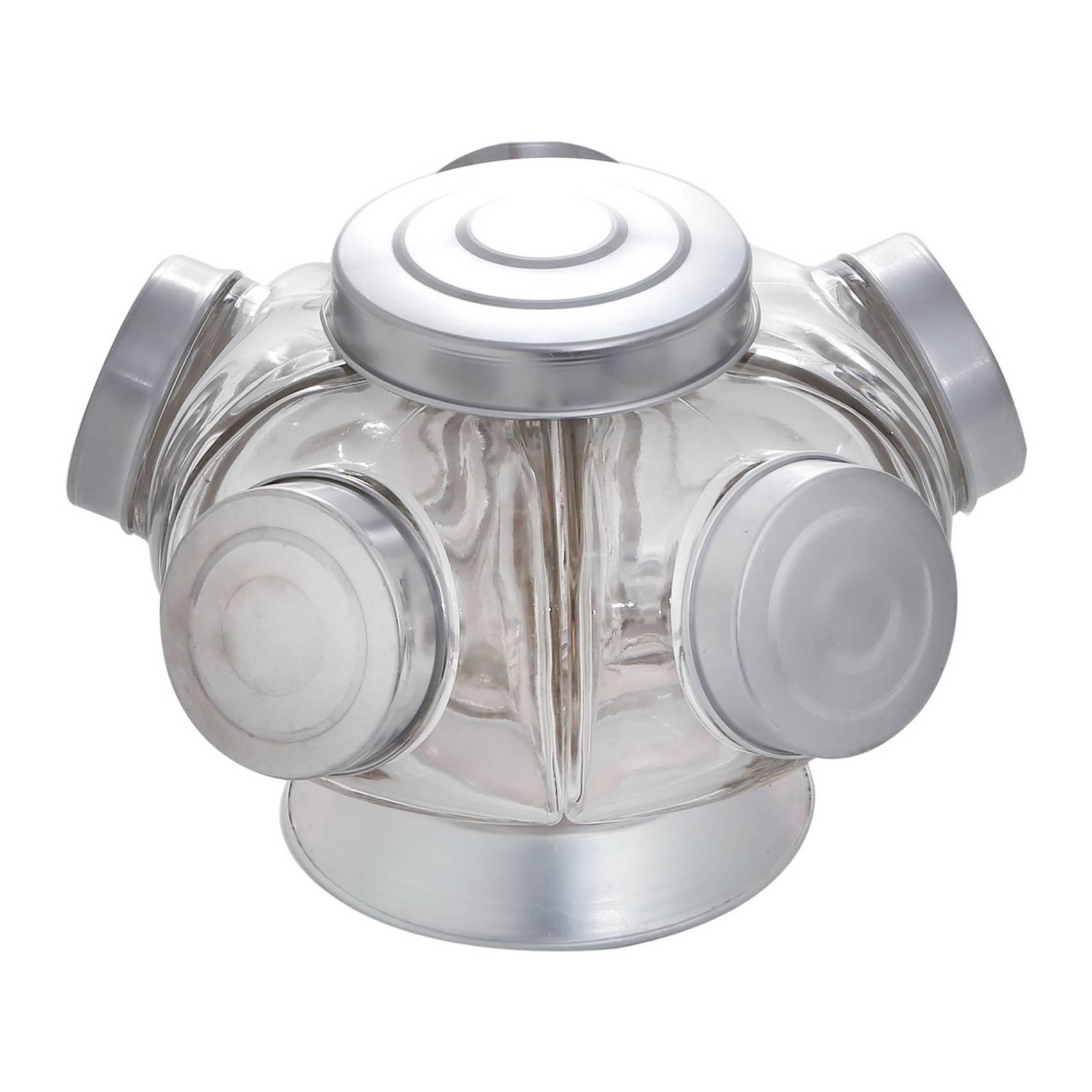 Baleiro De Vidro Com Base Giratória 22,5X15,5Cm - Rojemac