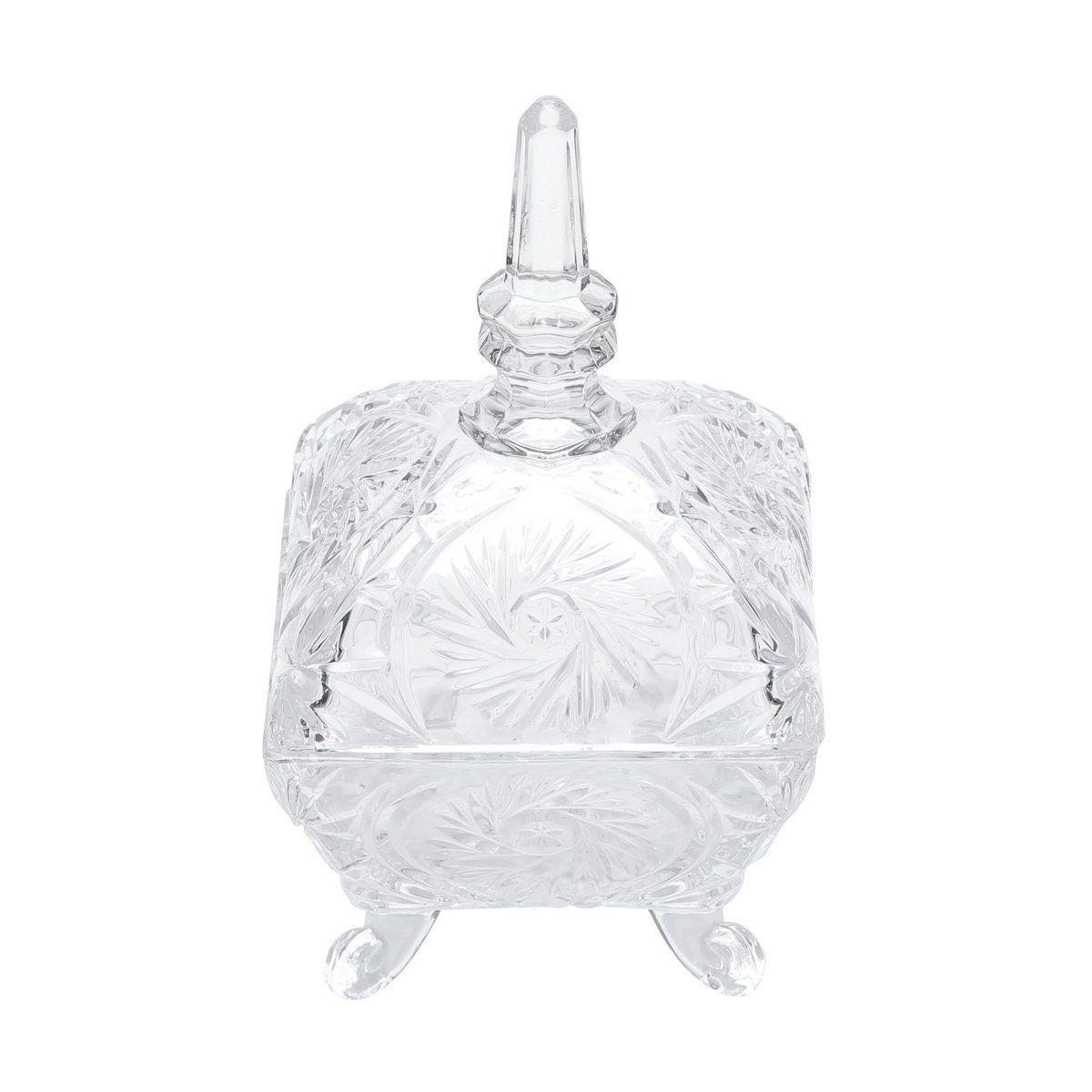 Bomboniere De Cristal Com Tampa Dragon - Lyor
