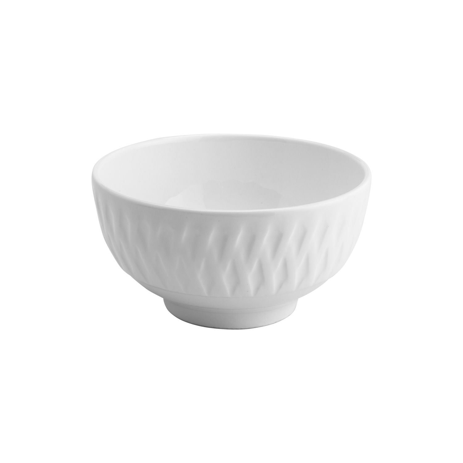 Bowl De Porcelana Balloon Branco - Lyor