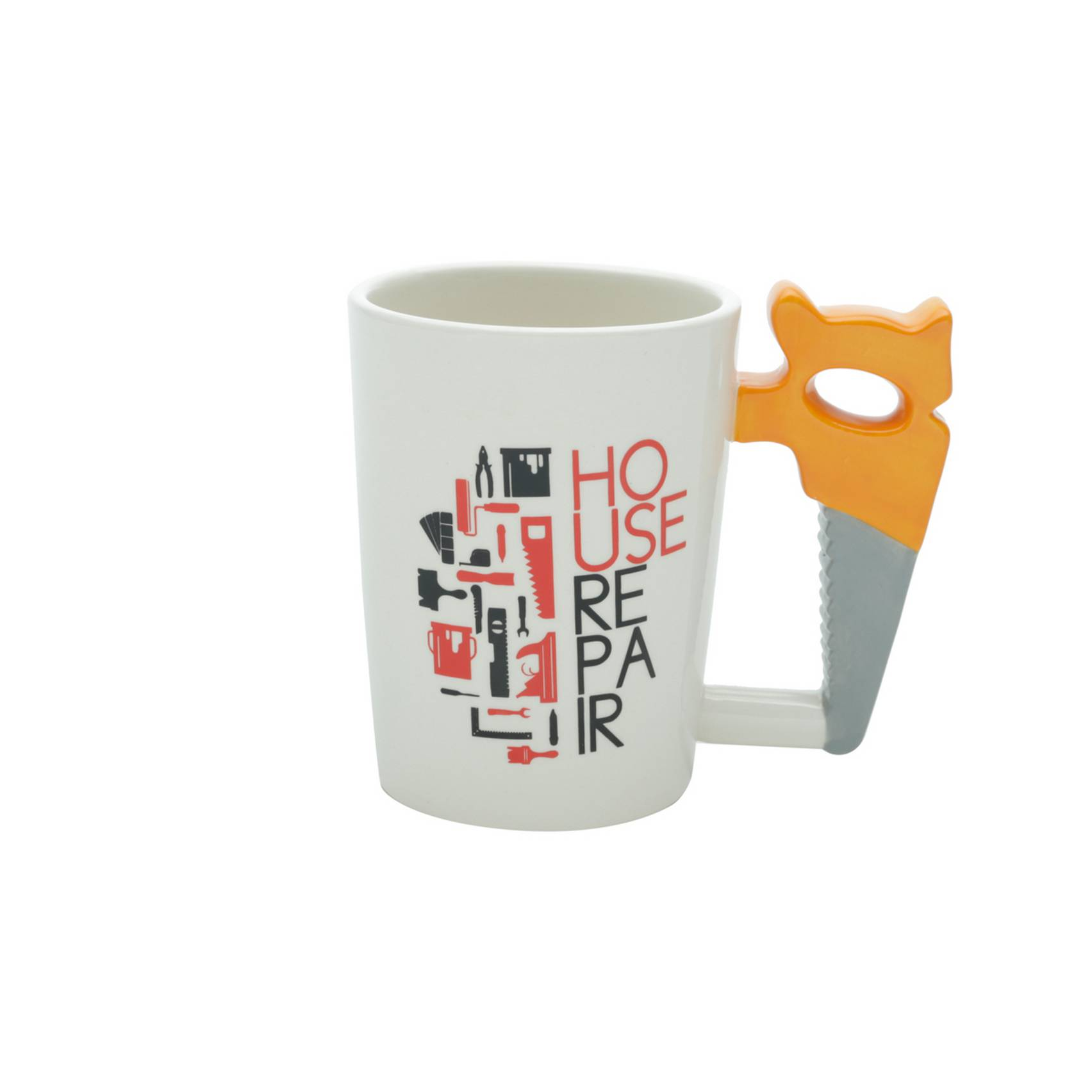 Caneca De Ceramica House Repair 380ml Rojemac
