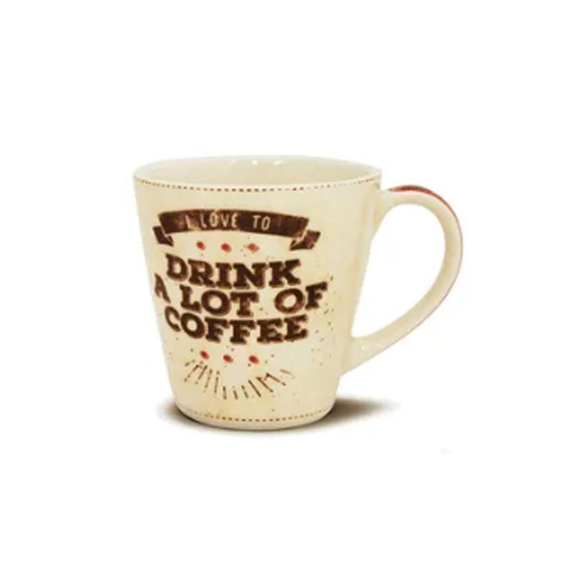 CANECA DE CERÂMICA LOT OF COFFEE 405 ML CORONA - YOI 8103010277