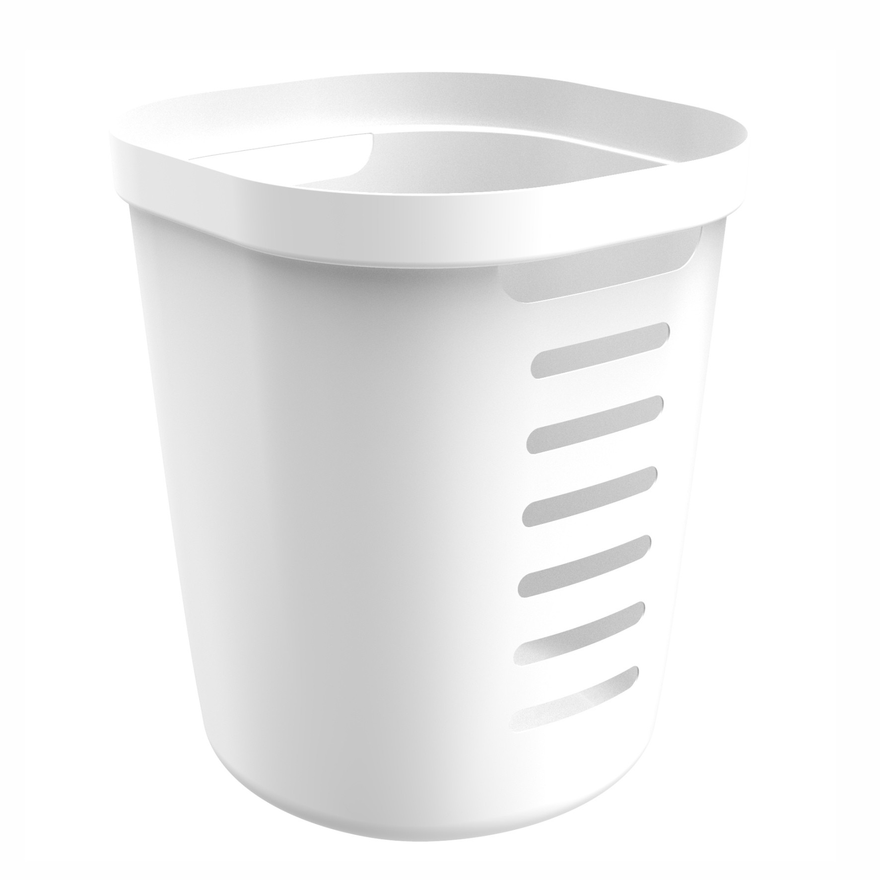 Cesto Organizador 46L Cube Flex Branco - OU