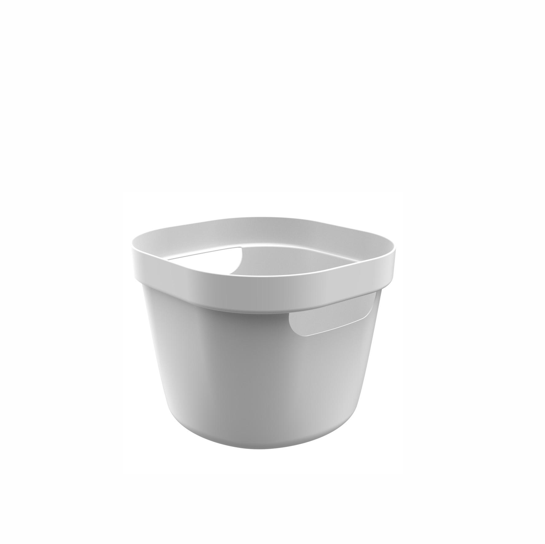 Cesto Organizador 4L Cube Flex Branco - OU