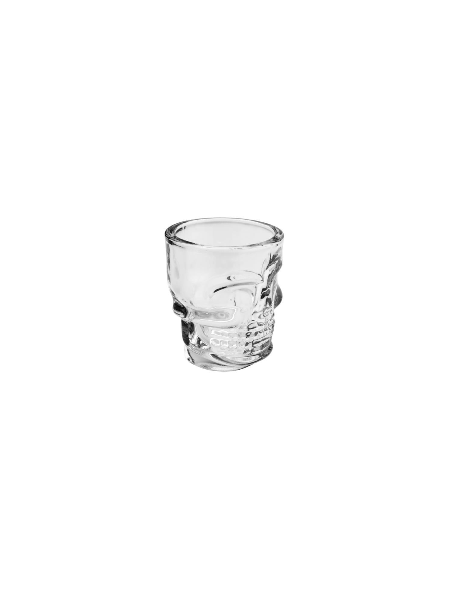 Conjunto 6 copos para Shot Caveira 50ml - LYOR
